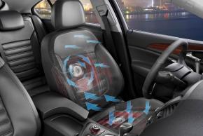 Opel siedzenia wentylacja